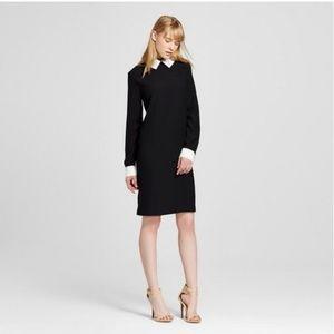 Victoria Beckham for Target Black Collared Dress.